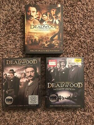 Deadwood The Complete Series (Blu-ray,2013,13-Disc Set,Season 1 2 3) NEW