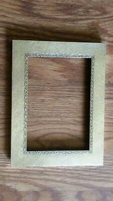 63b95720161 Antique Etched 925 Sterling Silver Picture Frame Light Hammer