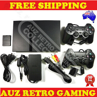 PS2 PlayStation 2 Slim Console Pack REFURBISHED