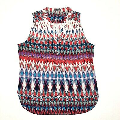 02e3c7c6a78 Market   Spruce Women s Sleeveless Blouse Size XL Stitch Fix Red White Blue