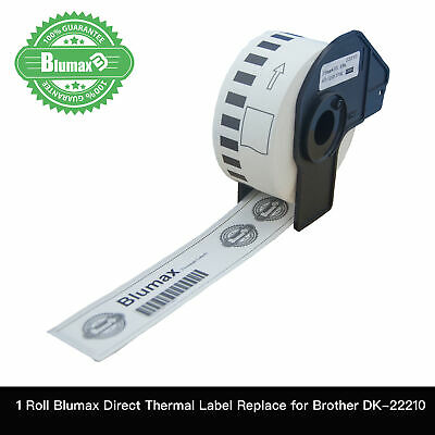 1 Blumax Compatible Brother for DK22210 Continuous Roll-28mm x 30.48m QL-570