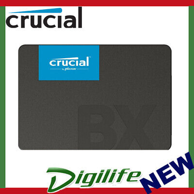 "Crucial BX500 960GB 2.5"" SATA SSD - 3D NAND 540/500MB/s 7mm Acronis True Image"