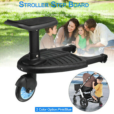 Kids Stroller Step Board Toddler Buggy Wheel Board Skateboard for Pram Jogger UK