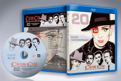Culture Club - Live At The Royal Albert Hall 2002 Blu-ray disc 2018 new