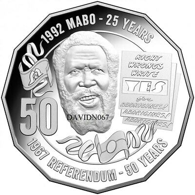 💥2017 50c⚡ Eddie Mabo Pride & the Passion.💥*** Ex Roll Low mint. Rare ⚡dn067💥