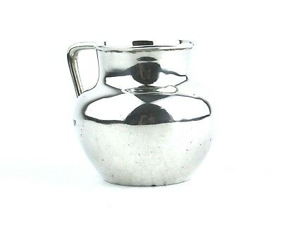 Antique Sterling Silver Jug Small Miniature London 1911 5.3 cm High
