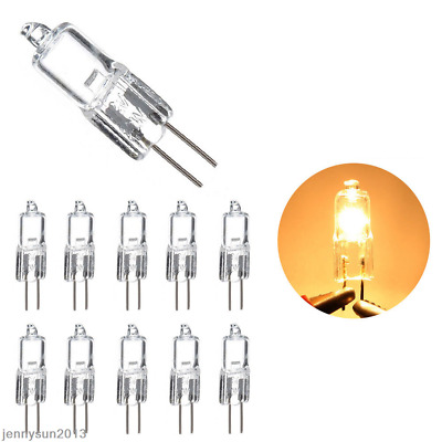 5/10x 12V G4 G9 Halogen Capsule Light Bulbs LED Replace Clear Lamp Beads 5-50W