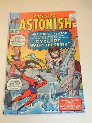 Tales To Astonish #46 Vg+ (4.5) Marvel Comics Ant-Man August 1963**
