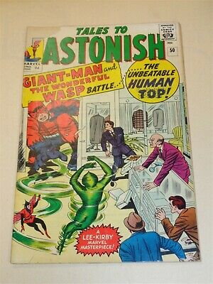 Tales To Astonish #50 G+ (2.5) Marvel Comics Wasp Kirby December 1963**