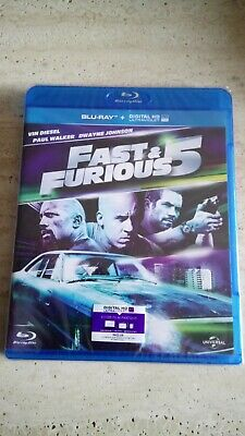 Fast and Furious 5 Blu Ray+Digital HD Ultraviolet Neuf Sous Blister neuf