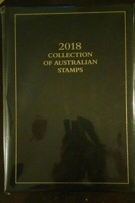 2018 Collection Of Australian Stamps Executive Edition NO STAMPS