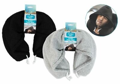 Adult Hooded Travel Pillow Comfort Cushion Neck