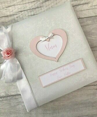 Personalised Traditional Mum Mothers Day Photo Album Gift 200 6x4 Photos