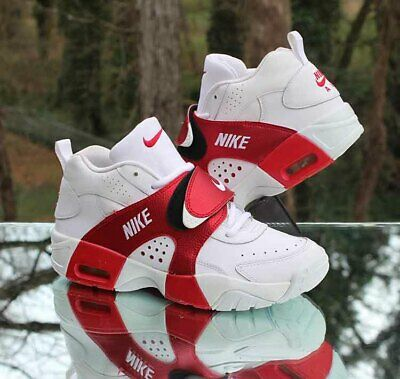 best service 71713 ef309 Nike Air Veer GS Boy s Size 6.5Y White Red 599213-100 Cross Training Shoes
