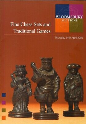 """Bloomsbury """"Fine Chess Sets & Traditional Games"""" chess auction catalogue, 2005"""