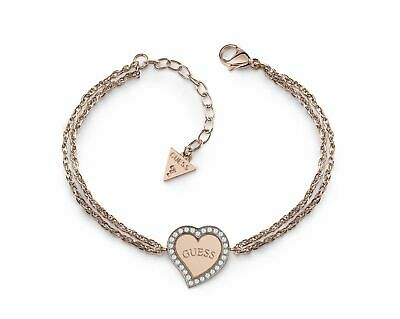 GUESS Braccialetto Heart Warming Bracelet S Rosegold