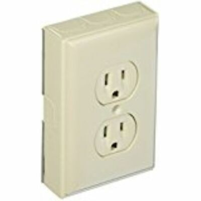 LOT OF 200}  Wiremold  B2D Metallic Outlet Kit, Ivory  NEW