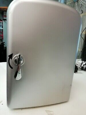 Mini Fridge SILVER 4 LITRE MAINS POWERED