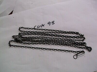 A Steel Chain From An Old Cuckoo Clock 62 Lincs To The Ft 79 Inch Ref Kuk 98