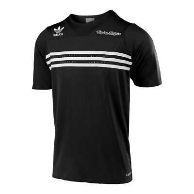Troy Lee Designs Adidas LE Ultra Mens Bicycle Short Sleeve Jersey Black