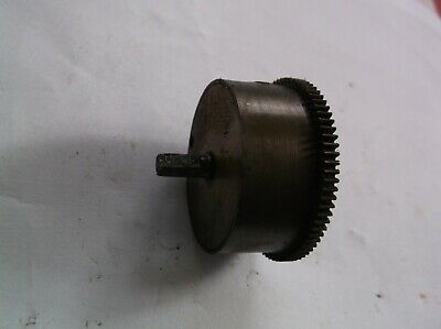 A Mainspring Barrel  From An Old   Mantle Clock  Mechanism Stamped Drgm Ref Dr1