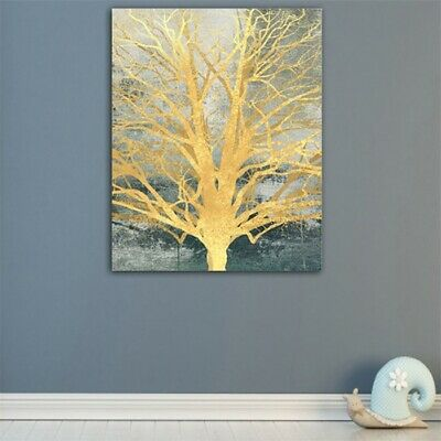 Abstract Tree Branch HD Print Canvas Modern Home Room Wall Decor Oil Painting