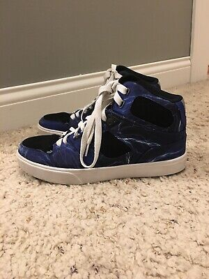 8a32f8d410 Osiris NYC 83 Vulc Skate Shoes Sz. 7.5 Men High Top Skateboarding Blue  Lightning
