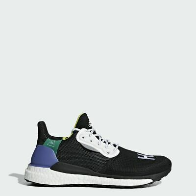 Adidas Originals x Pharrell Williams Solar HU Glide Boost Black New Men  BB8041 587e383aed0