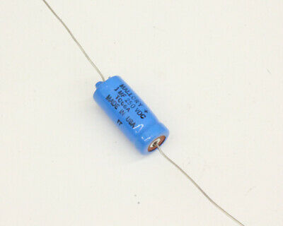 Type TC1540A NOS Mallory 4000uF 15V Axial Electrolytic Capacitor
