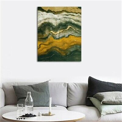 Abstract Marble Texture HD Print Canvas Modern Home Room Wall Decor Oil Painting