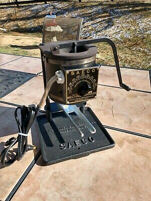 SEACO LEAD MELTING Furnace 850 deg  Bullet Casting Fishing Sinkers Used  Working