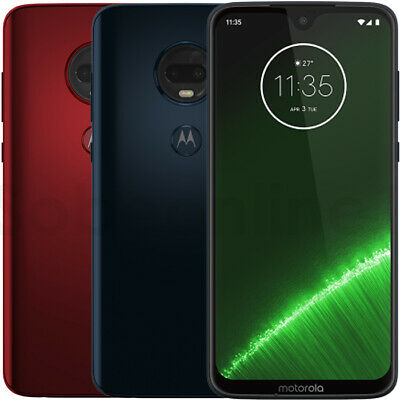 "Motorola Moto G7 PLUS  64GB 4GB XT1965-2 ( Factory Unlocked) 6.2"" FHD+ Display"
