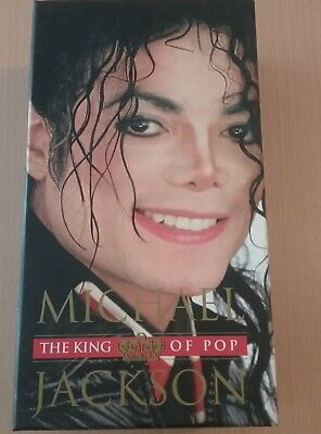 MICHAEL JACKSON-THE KING OF POP ,7cd + 3 DVD+LIBRO