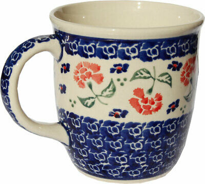 Polish Pottery Coffee Mug 12 Oz. GU1105/963 from Zaklady Boleslawiec