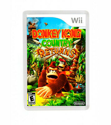 Donkey Kong Country Returns Nintendo Wii Fridge Magnet Iman Nevera