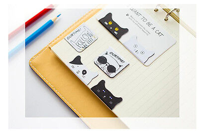 Cute Lovely Cat Magnetic Bookmarks
