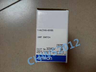 1 PCS NEW IN BOX Omron General Limit Switch D4A-4918N
