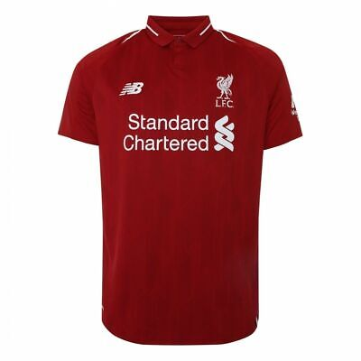Liverpool Home Shirt 2018-2019 Bnwt Uk Stock Fast Shipping