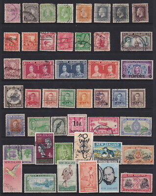 NEW ZEALAND - QUEEN VICTORIA to QEII Sets - Mint/Circ H/V - Total of 230 Stamps*