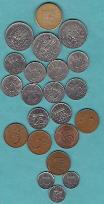 NETHERLANDS Bulk set of Coins - Mixed denominations for Travellers or Collectors