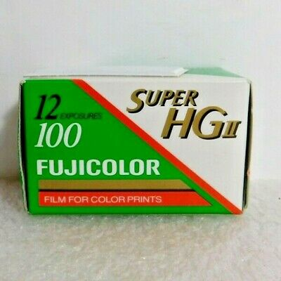 FUJI Color Print Film 12 Exposures Super HGII  ISO 100/21, CN-16/C-41