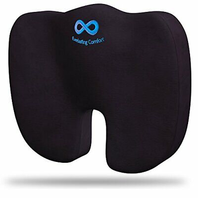 Everlasting Comfort Seat Cushion - Relieve Back Sciatica, Coccyx, Tailbone Pain