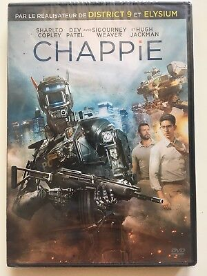 Chappie DVD NEUF SOUS BLISTER Sharlto Copley - Hugh Jackman