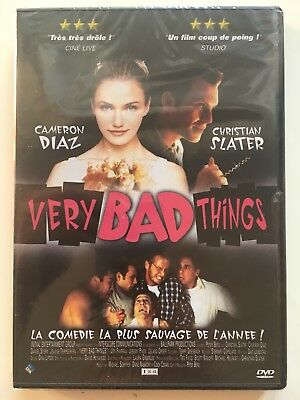 Very bad things DVD NEUF SOUS BLISTER Cameron Diaz