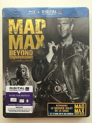 Mad max 3 BLU RAY STEELBOOK NEUF SOUS BLISTER Mel Gibson ENVOI SUIVI GRATUIT