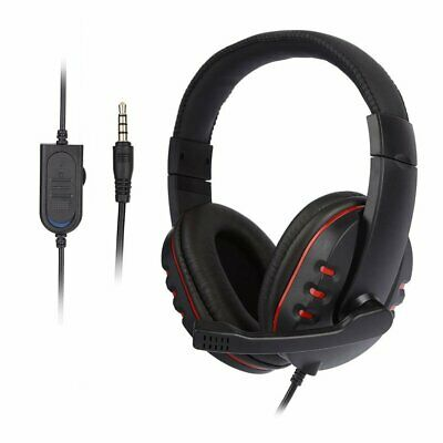 UK 3.5mm Gaming Headset MIC Stereo Headphones for PC Mac Laptop PS4 Xbox One UK