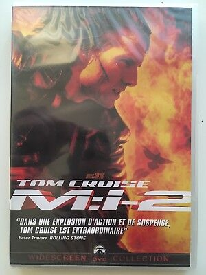 Mission impossible 2 DVD NEUF SOUS BLISTER Tom Cruise