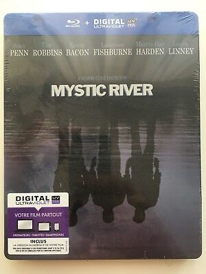 Mystic river BLU RAY STEELBOOK NEUF SOUS BLISTER Clint Eastwood ENVOI SUIVI