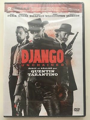 Django unchained DVD NEUF SOUS BLISTER Quentin Tarantino