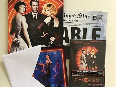 Chicago COFFRET 2 DVD NEUF SOUS BLISTER + Affiche + 6 Photos + Livre 96 Pages